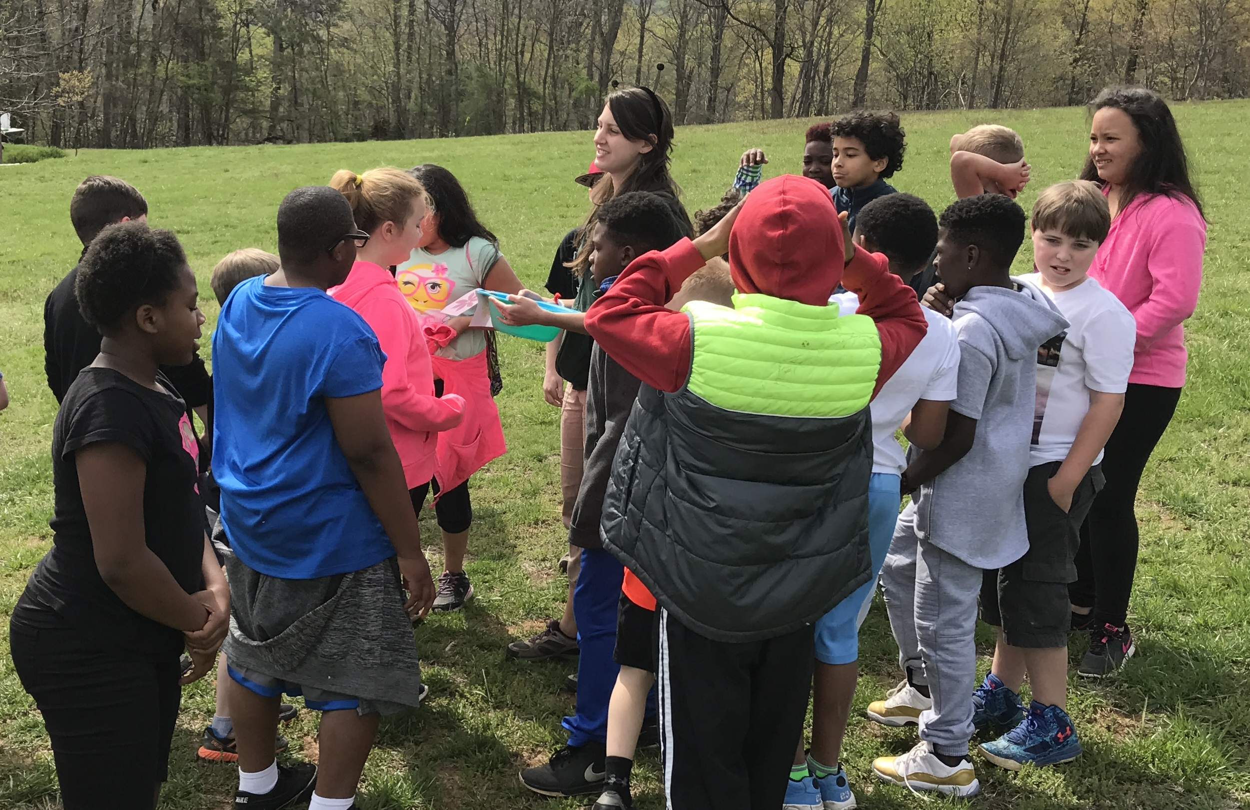 Lowell Elementary School visits Chimney Rock at Chimney Rock State Park