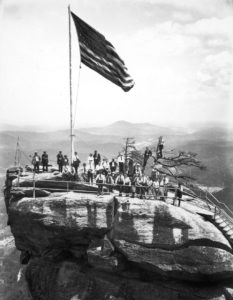 group_with_old_glory BW