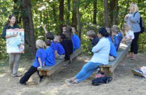 Monarch migration Program at Chimney Rock at Chimney Rock State Park