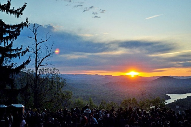 Tickets Required for Easter Sunrise Service at Chimney Rock - Chimney Rock  at Chimney Rock State Park