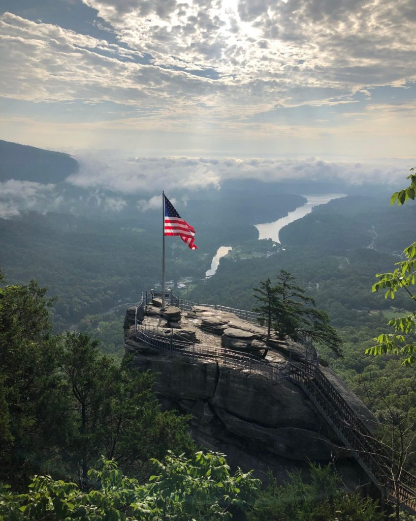 Chimney Rock Named Best State Park in NC